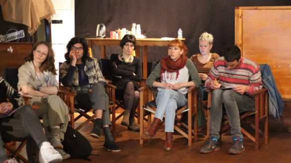 We discussed digital activism and security on April's workshop